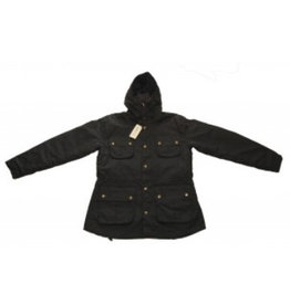Relco London Parka Jacket Black