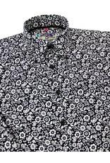 Madcap England Psychedelic Blumen Hemd