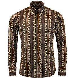 Madcap England Streifen 70s Hemd