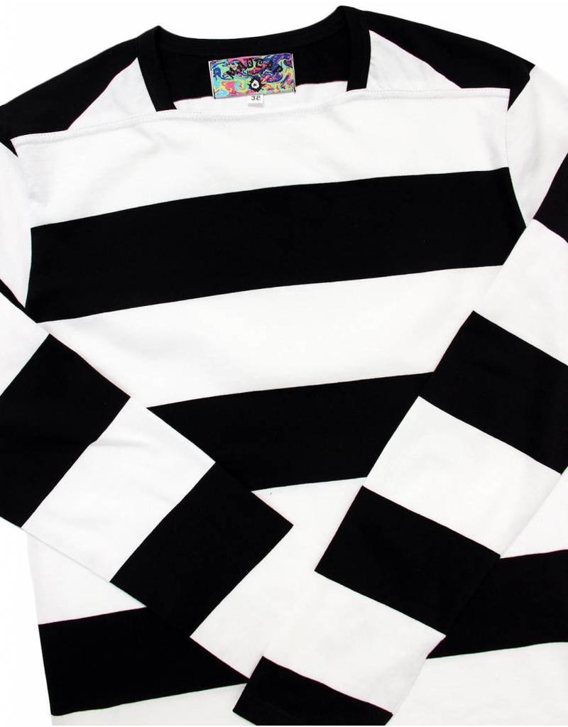 Madcap England Shirt mit breiten Streifen