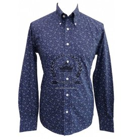 Relco London Hemd navy Blumen