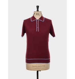 Art Gallery Polo 'Woody' bordeaux