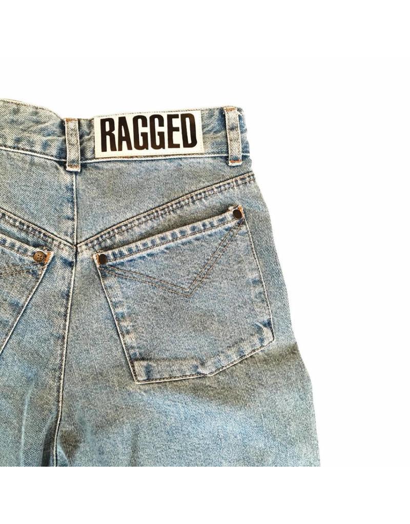 The Ragged Priest Jeans Fransen hellblau