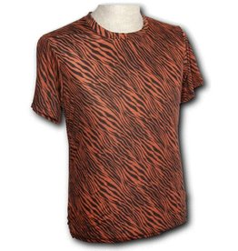 Chenaski T-Shirt Zebra rust