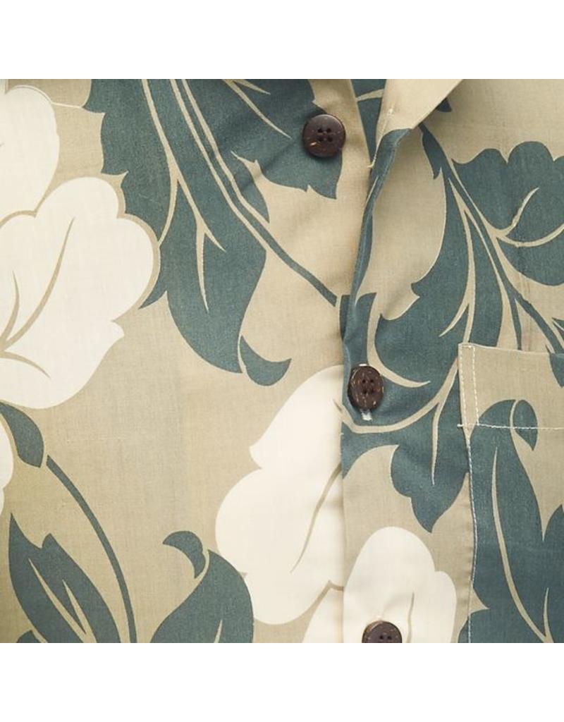 Chenaski Halbarm Hemd Blätter