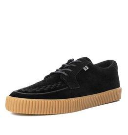 T.U.K. Footwear T.U.K. Shoes EZC Black Suede Creeper Sneaker