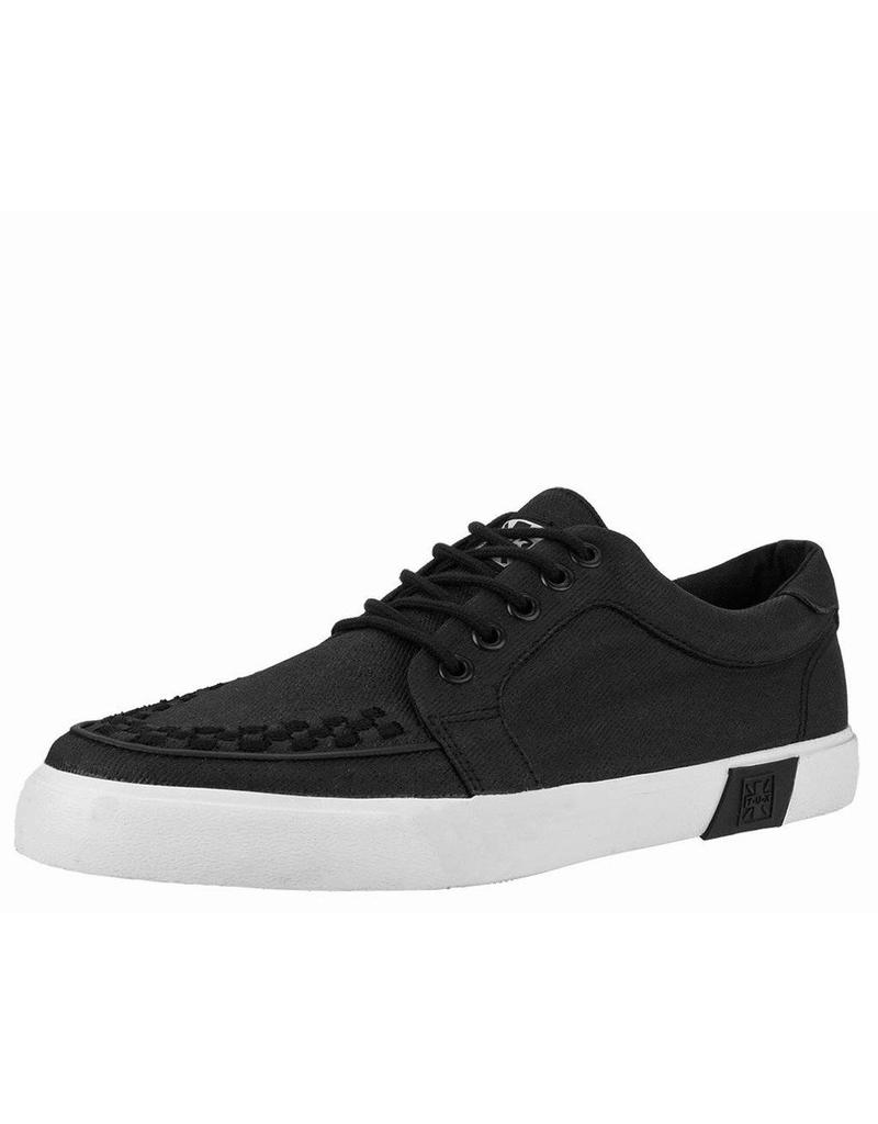 kShoes Vlk Creeper Black Sole Canvas Waxed u T Sneaker White K1TJclF