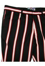 Madcap England Bootcut in schwarz/rot/weiß