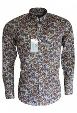 Relco London Paisley Shirt multi colour