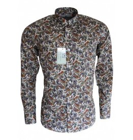 Relco London Paisley Shirt multi colour