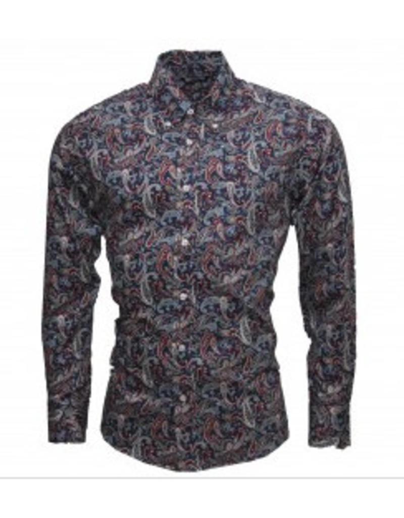 Relco London Paisley Shirt Multicolour