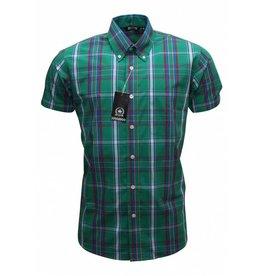 Relco London Shirt Plaid Green