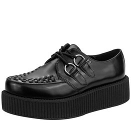T.U.K. Footwear Creeper double Leder