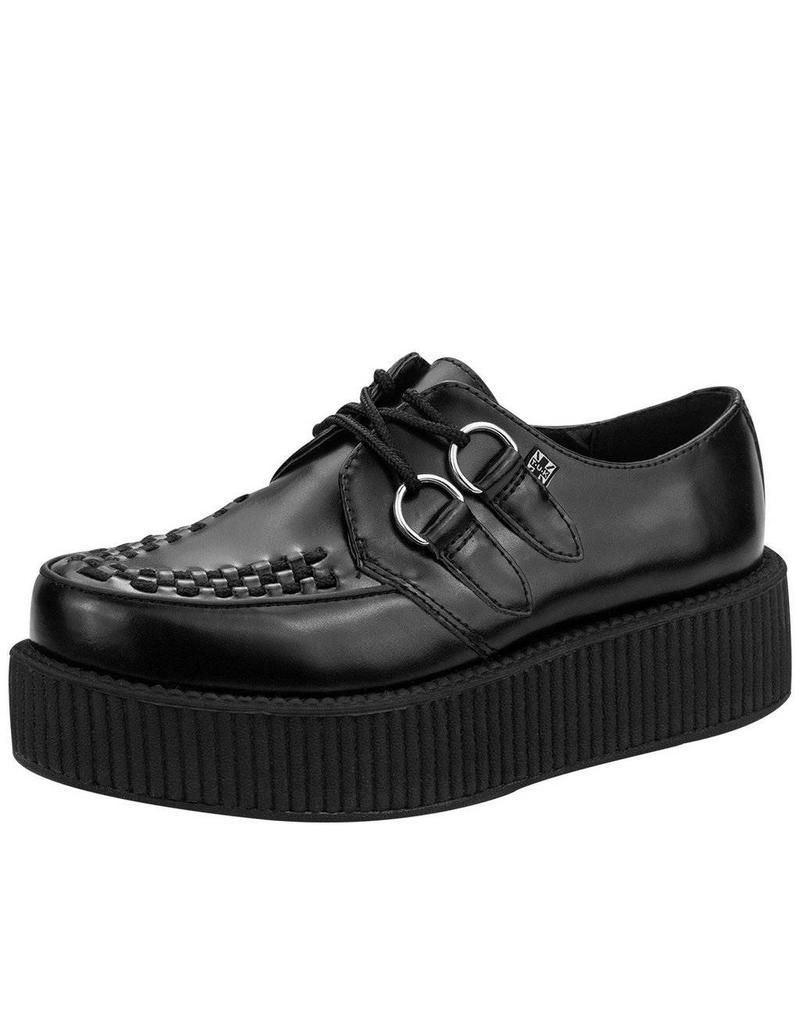 T.U.K. Footwear Creeper double Leder