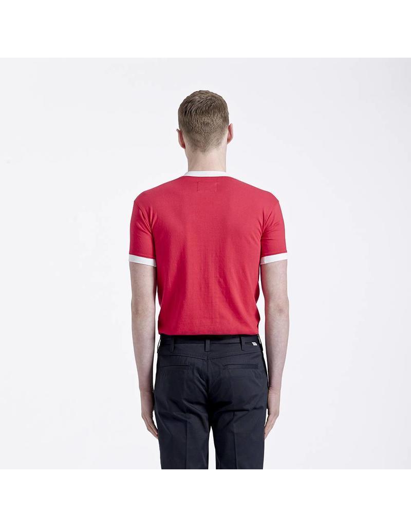 Brutus London Red Ringer T-Shirt