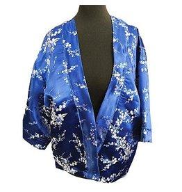 Liv Schwarz Kimono Jacket blue