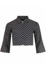 Madcap England Bolero Jacke mit geometrischen Kreisen