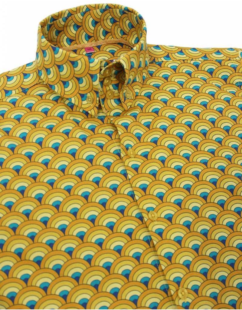 Hemd in gelb mit Muster von Madcap England - bei pogo online shoppen ... 18986d5eda