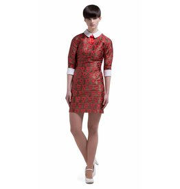 Marmalade Mod dress red/light copper