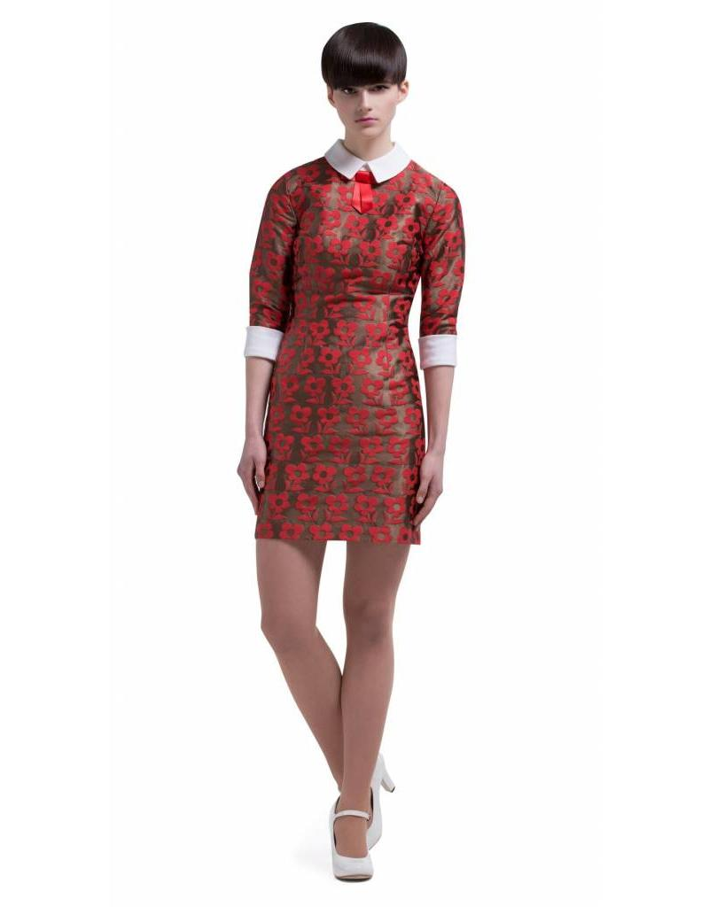 Marmalade Mod dress red/light copper
