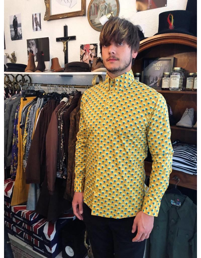 Hemd in gelb mit Muster von Madcap England - bei pogo online shoppen - pogo 5be2fcdec1