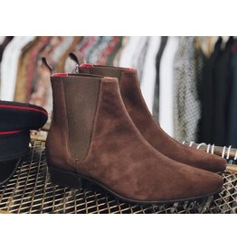 Beatwear Liverpool Low Cavern Boot chocolate