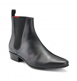 Beatwear Liverpool Low Cavern Boot Leder schwarz