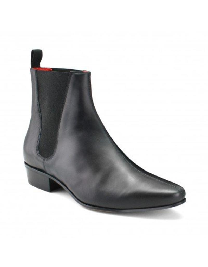Beatwear Liverpool Low Cavern Boot Leather black