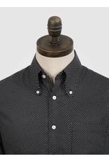 Art Gallery Hemd schwarz/weiß gepunktet