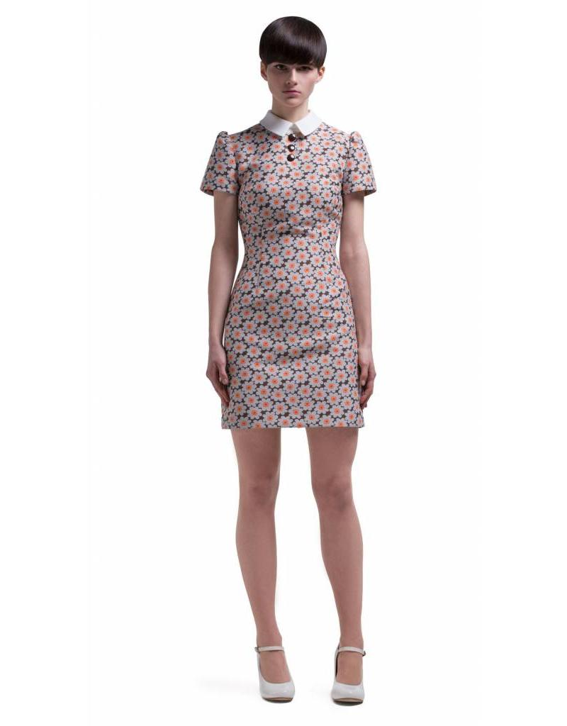 Marmalade 1960s Mod Style Floer Pattern Dress