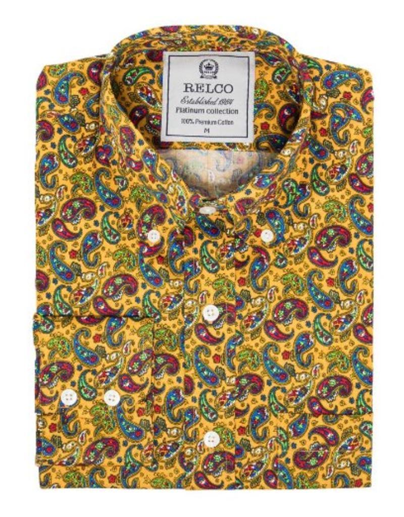 Relco London Paisleyhemd 70s