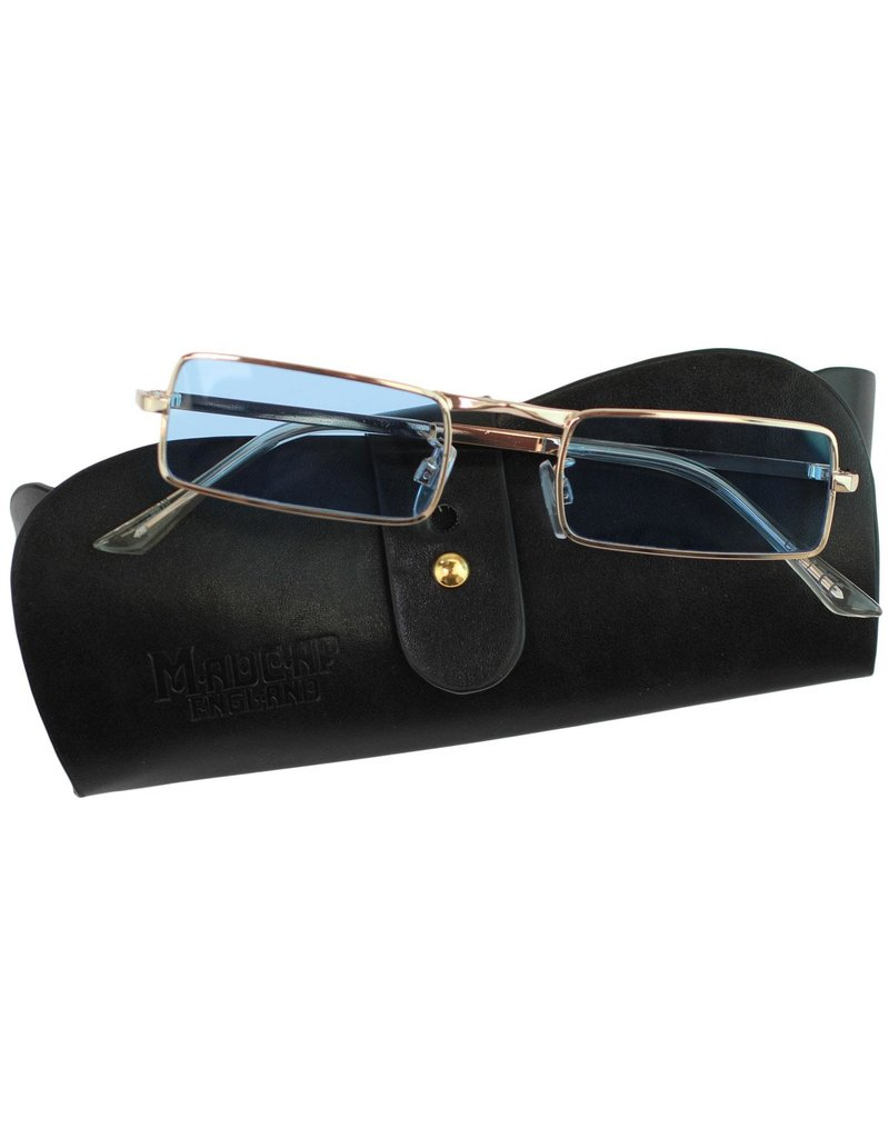 Madcap England 1960s Sunglasses Blue
