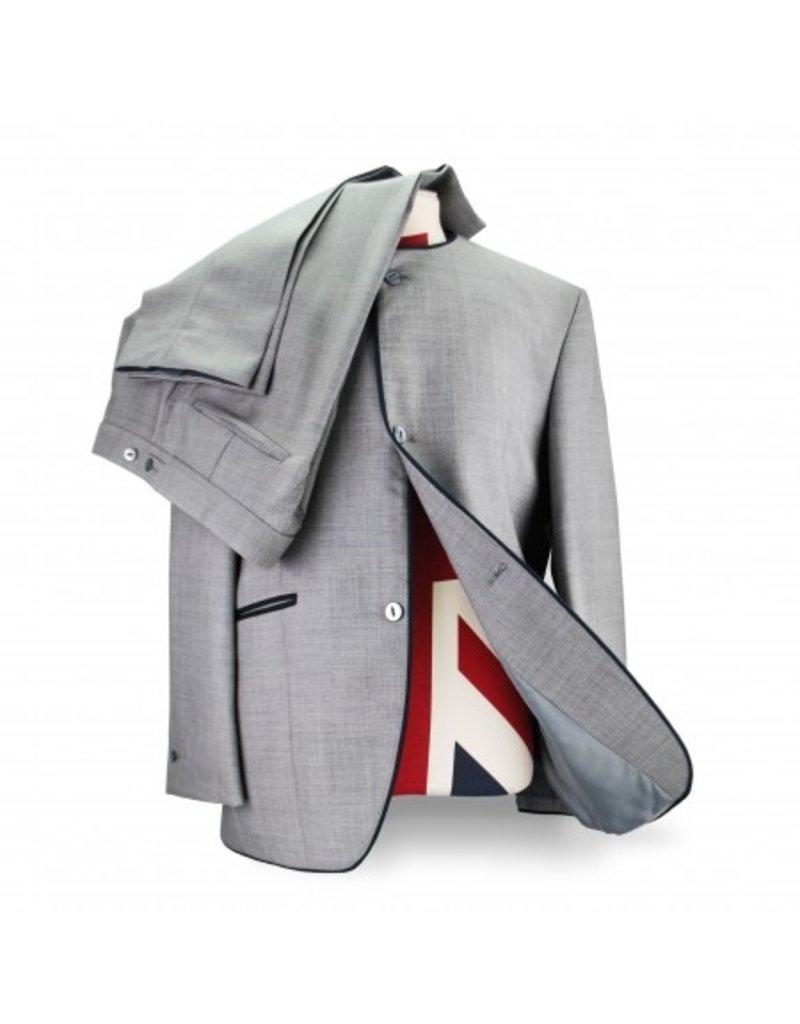 Beatwear Liverpool Kragenloser Anzug, Hose