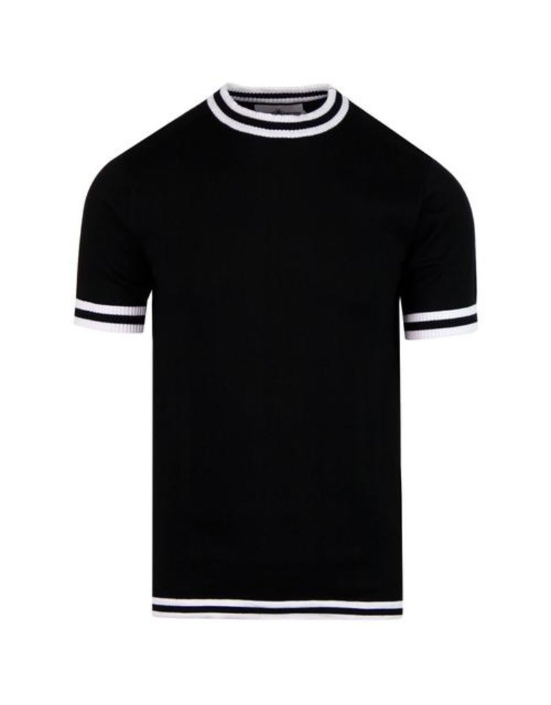Madcap England T-Shirt 1960s Mod schwarz