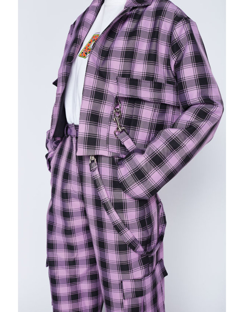 The Ragged Priest Check Blazer