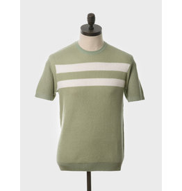 Art Gallery T-Shirt Strickoptik Spearmint