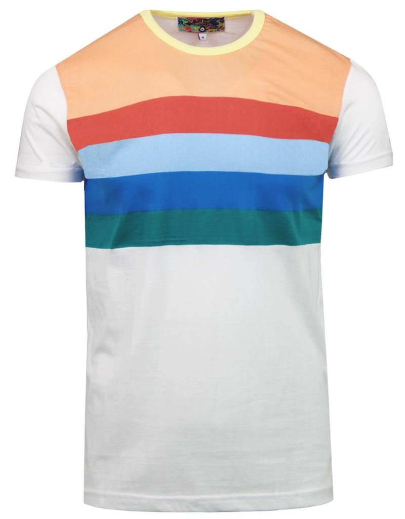 Madcap England Stripe T-Shirt in white