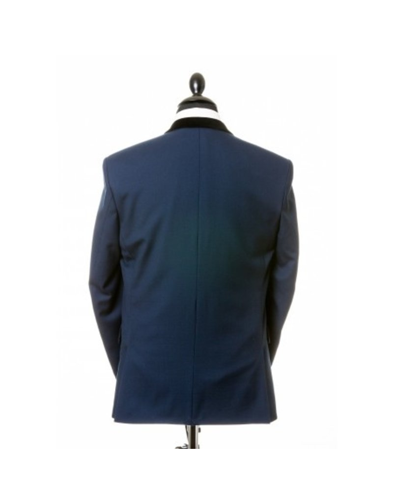 Beatwear Liverpool Chesterfield Jacket - Persian Blue