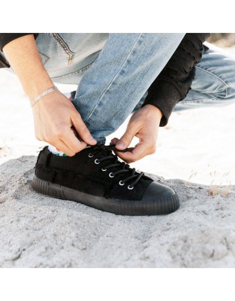 T.U.K. Footwear Sneaker Canvas in schwarz