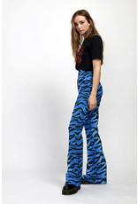 Milk It Tiger Print Flare Trouser