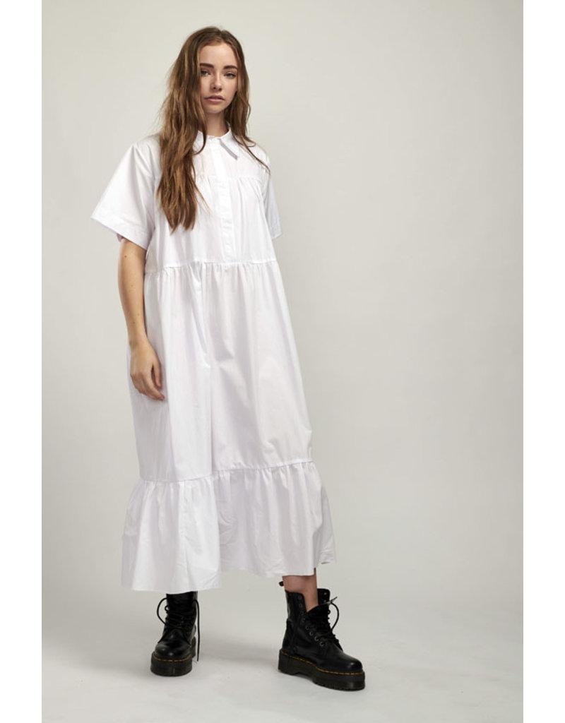 Milk It Maxi Shirt Dress