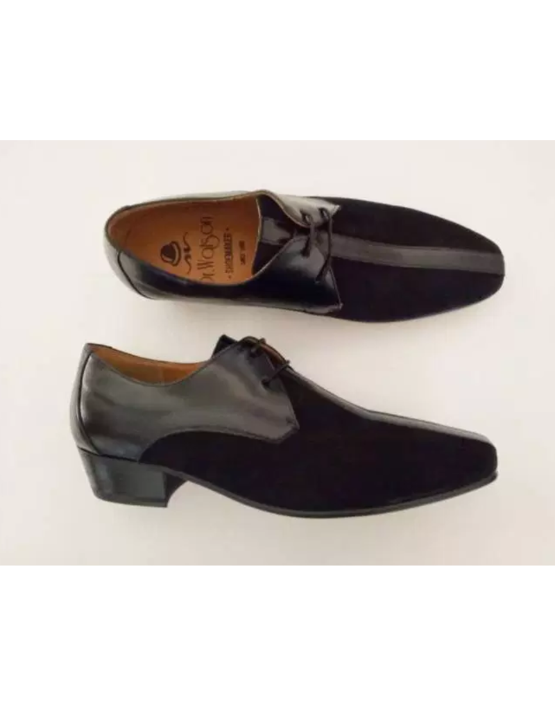 Dr. Watson Shoemaker Slipper suede and leather
