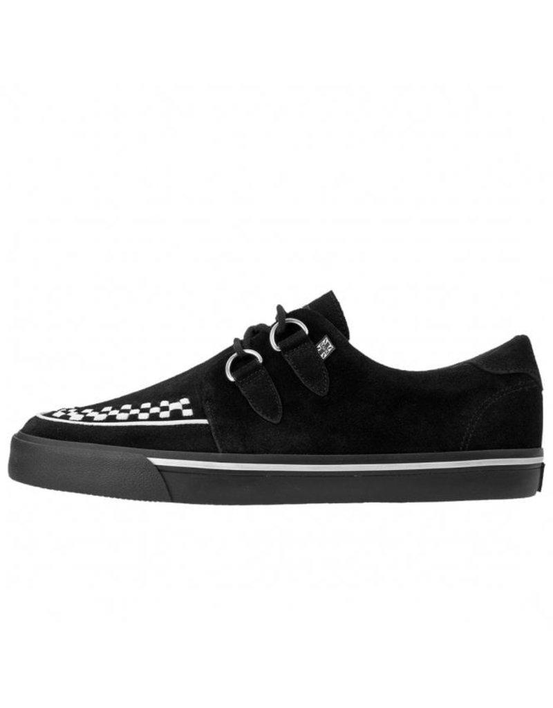 T.U.K. Footwear Black&White Creeper Sneaker