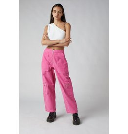 The Ragged Priest Hose mit Taschen in pink