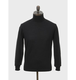 Art Gallery Rollkragenpullover in schwarz