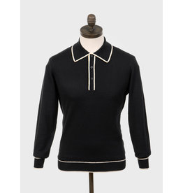 Art Gallery Polo in schwarz und braun