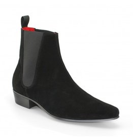 Beatwear Liverpool Low Cavern Boot Wildleder schwarz