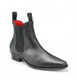 Beatwear Liverpool Classic Boot in schwarzem Leder