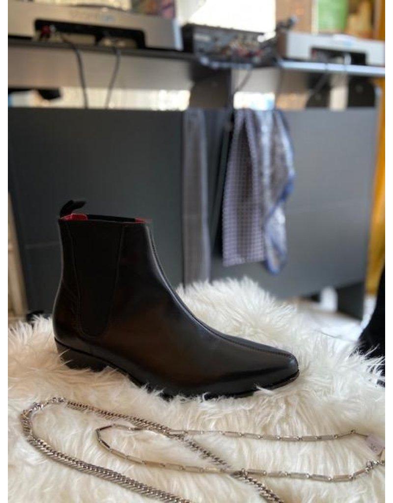 Beatwear Liverpool Low Cavern Boot Leder schwarz