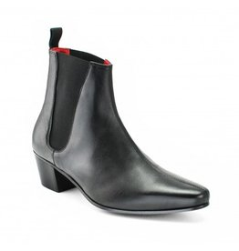 Beatwear Liverpool High Cavern Boot Leder schwarz